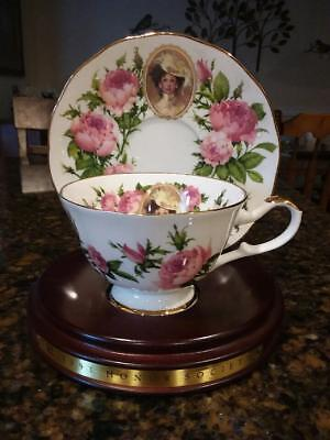 Avon 1991 Mrs. Albee Honor Society Cup and Saucer