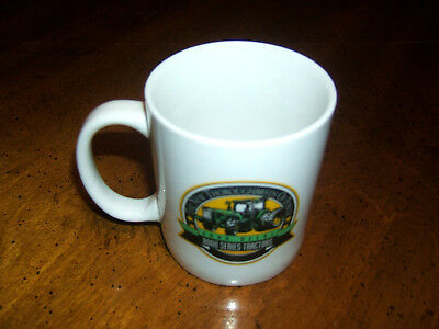 """Lynyl Coffee Cup """"john Deere 8000 Series Tractor"""" The Thoroughbred Of Power Vguc"""