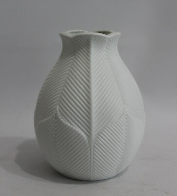 RAR OP Art Design Vase KAISER W.Germany  Mattes Relief