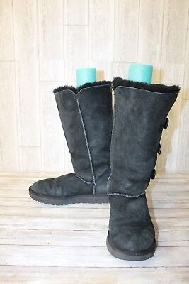 f59a221c2c5 UGG BAILEY BUTTON Triplet II Boot - Women s size 11 - Black ...