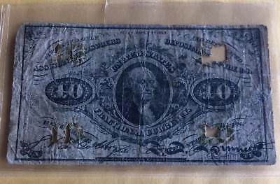 1863 Fractional US Currency