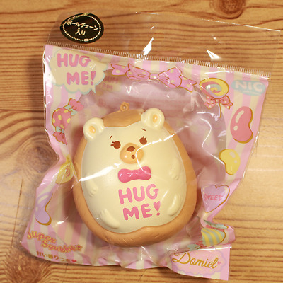 NIC x Damiel Hug Me! Brown Hedgehog Squishy