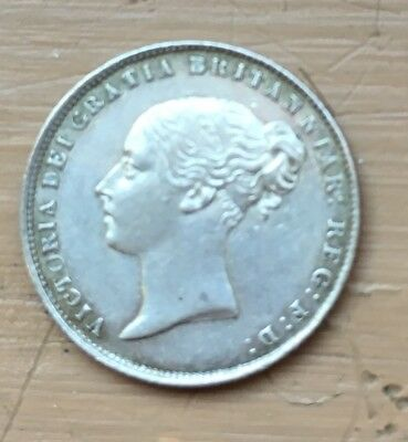 Great Britain 6 pence 1864 k-733.2 XF/AU