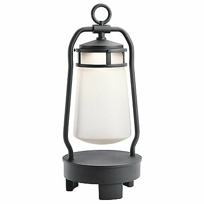 Kichler 49500BKTLED Lyndon Portable Bluetooth Speaker Outdoor Lantern, 1 Light 7