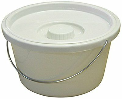 Aidapt 7.5L Commode Bucket and Lid Eligible for VAT relief in the UK
