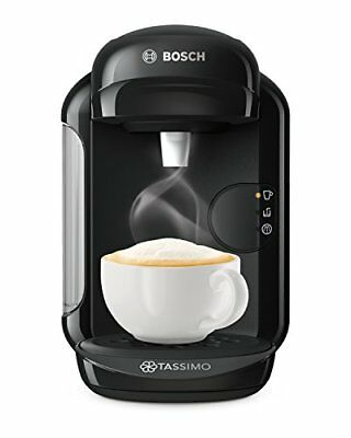 Bosch Tassimo Vivy 2 TAS1402GB Coffee Machine, 1300 Watt, 0.7 Litre - Black