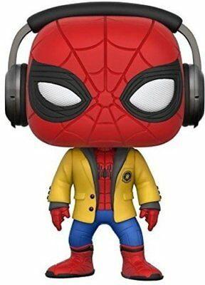 Funko 21660 Pop Bobble Marvel Homecoming Spider-Man wHeadphones