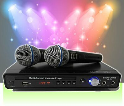 Vocal-Star VS-400 CDG DVD Karaoke Machine With 2 Microphones  Songs