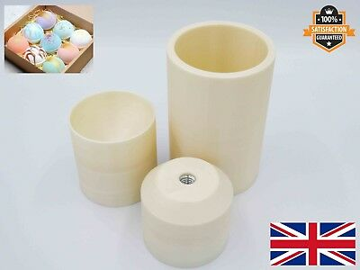 "Bath bomb mould press 2.25"", 2.75"", 3"" Piston Machine Soap Form Thread M12"