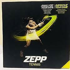 ZEPP Tennis 3D Swing Analyser Shot & Serve Tracker IOS & Android Devices Sensor