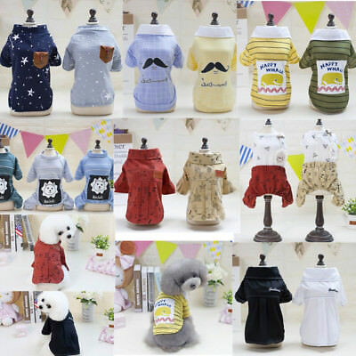 2018 Cute Summer Various Pet Puppy Small Dog Cat Clothes Vest T-Shirts Apparel