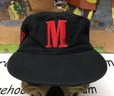 Marlboro Country Store Miles Redemption Vintage Black Red Hat Cap