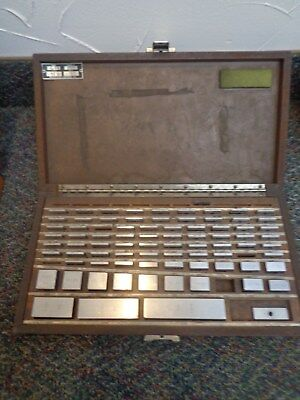 81 pc. Inspection Control Co. Gage Block Set