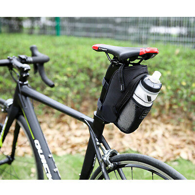 Cycling Bike Bicycle Saddle Pannier Seat Bag Tail Storage Bottle Holder Good