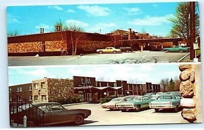 Lemoyne Manor Motel Hotel Old Liverpool Rd Syracuse NY Vintage Postcard A91