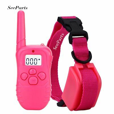 Shock Collar for Small Dogs w/Remote Training Collar, LCD Display , 3 Mode Dog