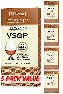 Still Spirits Classic VSOP Essence- 5 Pack - Homebrew, EZ brew