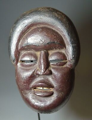 Interesting Rare Antique wood mask South East Asia China  中国古董