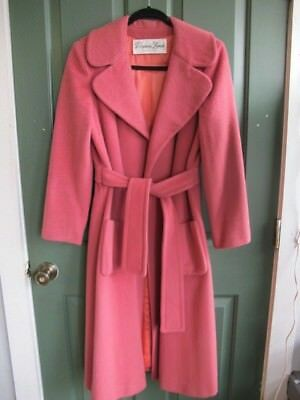 Vintage Pink Wool Coat/House of Branell