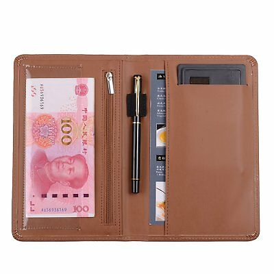 Leather Servers Wallet ,Server Waiter Book Organizer Restaurant Brown/8.2 ×5.5