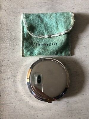 Tiffany & Co. .925 Sterling Silver Compact Elegant Classic Auction Deal Sale