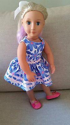 """American Girl Gotz Our Generation Journey 18"""" Inch Doll's Clothes Dress"""