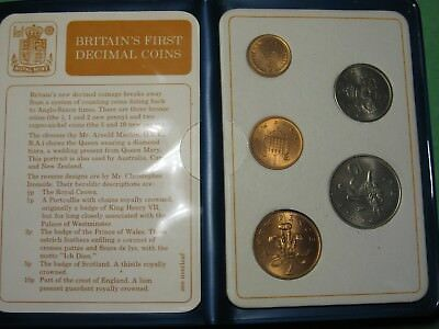 Great Britain First Decimal Coins 1968