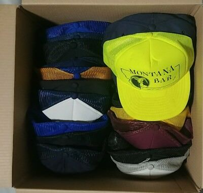 50+ Vintage Trucker Snapback, Patch, Hipster Caps Advertising Hat Lot mesh hats