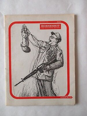Horseshit Underground Magazine Set #1-3 1960s The Offensive Review Articles/Art