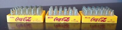 3 Coca Cola 50's Miniature Bottle Cases/Crates for Marx Trucks.