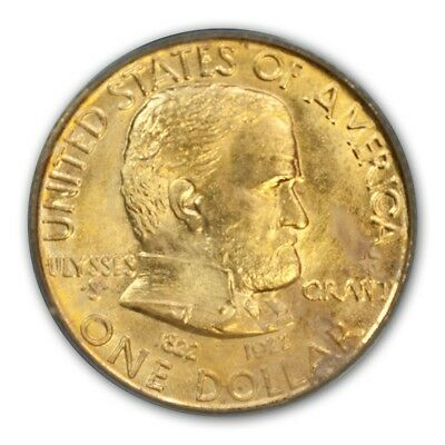 GRANT, WITH STAR 1922 G$1 Gold Commemorative PCGS MS65