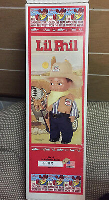 Vintage Phillips 66 Cowboy Doll lil Phil collectible advertising series 4.