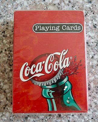 New Sealed, Coca Cola Playing Cards, Bottle Cap,US Playing Card Company