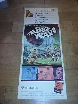The Big Wave 1961 Original Movie Film Poster Insert Pearl S. Buck