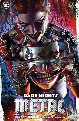 Dark Nights Metal 6 Greg Horn Harley Quinn Who Laughs Spiked Mask Variant Batman