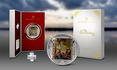 Cook Islands 2018 $20 MoA The Easter Edition Christ's Death 3oz Silver.999 Proof