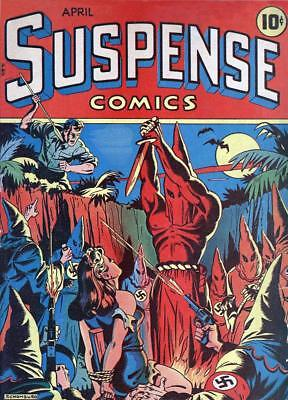 Suspense Comics #3 Photocopy Comic Book, Classic Cover (54 Pages)