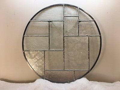 Stained glass window/wall panel