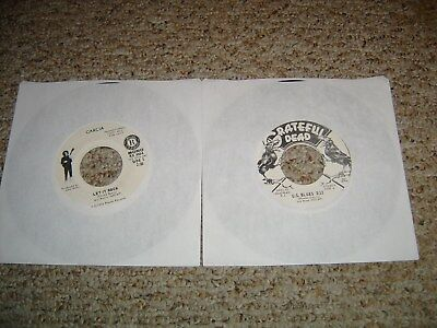 Lot Of 2 Grateful Dead And Jerry Garcia Psych Rock Promo 45S Clean