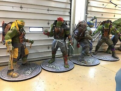 Life Size TMNT Teenage Mutant Ninja Turtles Full Size Props Paramount Pictures