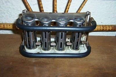 Vintage McGill High Speed 4 Barrel Belt Clip Coin Dispenser