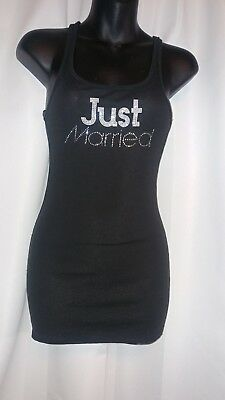 victorias secret I do just married tank top size m