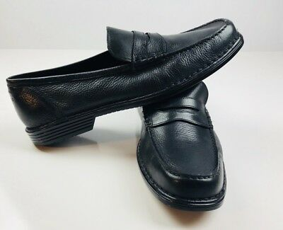 reputable site b7dae fefad ... ireland nwot mens rockport adiprene by adidas penny loafers leather  shoes black size 16 6e839 97108