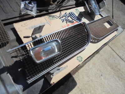 69 plymouth barracuda turn signal assy's & grille parts