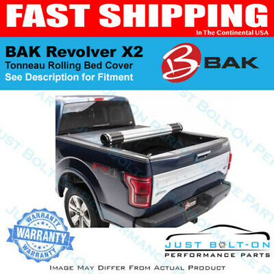BAK Revolver X2 Rolling Cover Fits 2016-2018 Toyota Tacoma 6' Bed #39427