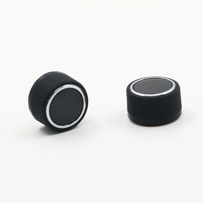 2 Pcs Replacement Rear Radio Audio Volume Control Knob for Chevrolet GMC EW
