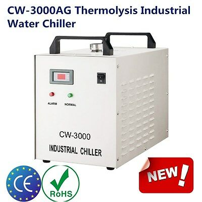 USA S&A 220V CW-3000AG Industrial Water Chiller for 60W / 80W CO2 Laser Tube NEW
