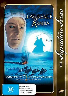 Lawrence of Arabia DVD Region 4 NEW