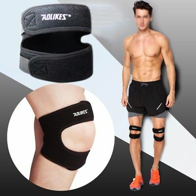 AOLIKES Knee Support Brace Adjustable Straps Patella Stabilizer Sports Cycling