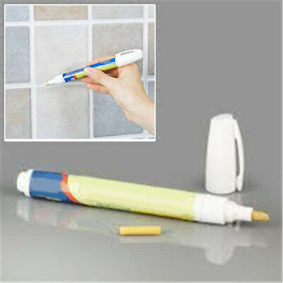Grout Aide Tile Marker Repair Wall Pen Home Decor Using Tiles Floor White New